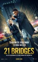 21 Bridges 2019 Türkçe Altyazılı izle